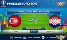 Prediksi Piala Eropa 2016 Grup D Turkey vs Croasia, dimana jadwal pertandingan Turkey vs Croasia akan berlangsung pada tanggal 12 Juni 2016 jam 20.00 Waktu Indonesia Bagian Barat. Pertandingan ini …