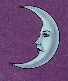 purple lady moon