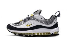 71a73b573792b Best Quality Nike Air Max 98 Tour Yellow 2018 640744 105 TOUR YELLOW  MIDNIGHT NAVY