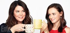 The 'Gilmore Girls' (and Guys) Are Back! Exclusive Photos of the Stars Hollow Crew | Lauren Graham and Alexis Bledel | EW.com
