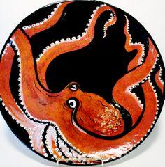Octopus Beth Allison Gripenstraw Ceramics