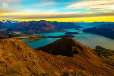 Hiking at 3am in pitch black to the top of Roy's Peak was totally worth the sunrise view! Wanaka New Zealand [5472x3648][OC]