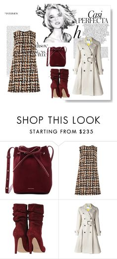 """-"" by nihada-niky ❤ liked on Polyvore featuring Whiteley, Mansur Gavriel, Dolce&Gabbana and Moschino"