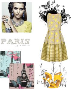 """Paris"" by katie050 ❤ liked on Polyvore"