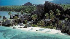 Un buen destino para luna de miel: Anse Source d'Argent, en Islas Seychelles #wedding #honeymoon #destinos