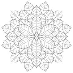 Coloring Pages Snowflake Patterns | By Shala Kerrigan Posted on Friday, December 16, 2011