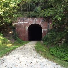 This Amazing Hiking Trail In West Virginia Takes You Through Abandoned Train Tunnels