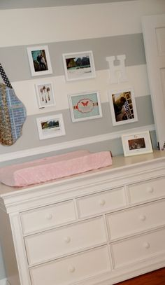 {Bria Hammel Interiors} Baby girl nursery