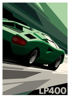 The Lamborghini Huracan was debuted at the 2014 Geneva Motor Show and went into production in the same year. The car Lamborghini's replacement to the Gallardo. Lamborghini, Ferrari, Vintage Racing, Vintage Cars, Auto Illustration, Car Prints, Car Posters, Car Drawings, Car Sketch