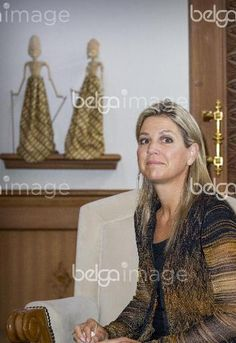 2016-Queen Maxima arrives at the airport of Jakarta at the start of her visit to Indonesia, 29 August 2016. Queen Maxima visits Indonesia as United Nations Secretary-General's Special Advocate for Inclusive Finance for Development. Photo: Patrick van Katwijk / NETHERLANDS OUT POINT DE VUE OUT - NO WIRE SERVICE -