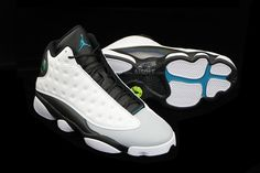 "Air Jordan 13 ""Barons"" http://www.sneakerstogo.com/newest-authentic-jordan-13-hologrambarons-p-45395.html"