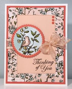 Stamp with Cindy! Fun Fold Cards, Cool Cards, Card Making Inspiration, Making Ideas, Bee Cards, Beautiful Handmade Cards, Stamping Up Cards, Get Well Cards, Mothers Day Cards