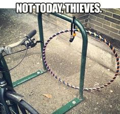 """Not Today Thieves"" (AKA THE HOOP CHAIN)"