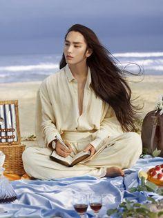 Mỹ nam tóc dài khiến con gái phát ghen, con trai điên đảo