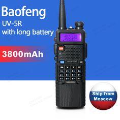 Baofeng uv-5r uv-3800 walkie talkie 5 w dual band radio uhf 400-520 MHz VHF 136-174 MHz UV 5R Two Way Radio portatile Walkie Talkie