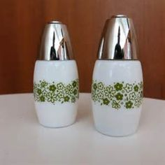 pyrex salt & pepper shakers - Bing images