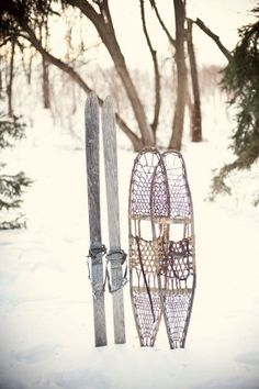 his and hers holiday skis