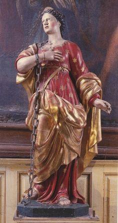 Santos, Beatos, Veneráveis e Servos de Deus: SANTA REGINA DE ALISE, Virgem e Mártir (07 de sete...