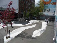 Charlotte Ammundsens Play Plaza, Copenhagen Denmark, 1:1 Landskab, 2008 - Playscapes