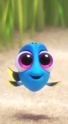 """Baby Dory"" Clip - Finding Dory Meet Baby Dory from Disney/Pixar& Finding. Disney Pixar, Walt Disney, Disney Animation, Disney Art, Disney Pocahontas, Disney Cartoons, Cartoon Wallpaper Iphone, Disney Phone Wallpaper, Cute Cartoon Wallpapers"