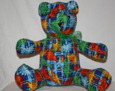Dinosaur Share-A-Bear - Edit Listing - Etsy Scary Kids, Very Scary, Dinosaur Stuffed Animal, Bear, Children, Animals, Etsy, Young Children, Boys