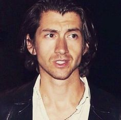 This picture of Alex Turner is life. #alexturner