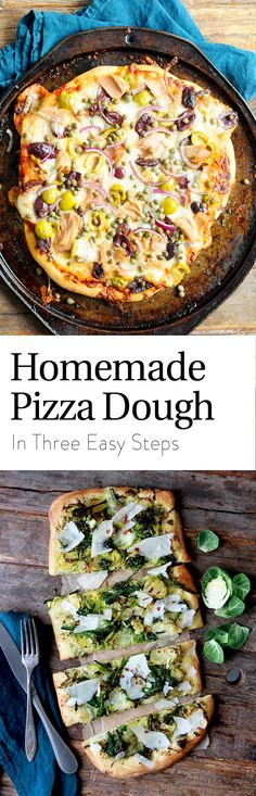 From the crust to your favorite toppings… pizza night isn't delivered. It's homemade! Make yours tonight with all your favorites! Healthy Pizza Recipes, Cooking Recipes, Russian Recipes, Italian Recipes, Pizza Flavors, Flatbread Pizza, Dinner Recipes, Easy Meals, Favorite Recipes