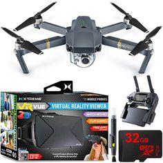 DJI Mavic Pro Quadcopter Drone with 4K Camera and Wi-Fi + Virtual Reality Experience Bundle #QuadCopter