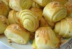 Croatian Recipes, Hungarian Recipes, Ital Food, Holiday Dinner, Croissants, Baked Potato, Garlic, Bakery, Food And Drink