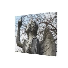 Stone Angel Gallery Wrap Canvas