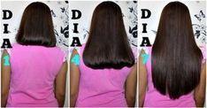 Increíble tratamiento para el crecimiento más rápido del cabello, que no requiere nada más que 3 ingredientes. Growing Long Hair Faster, Longer Hair Faster, Grow Long Hair, Grow Hair, Beauty Skin, Hair Beauty, Hair Issues, Hair Hacks, Healthy Hair