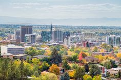 Boise Skyline Fall 2014