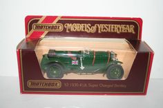 Matchbox Models of Yesteryear Y2 1930 4-1/2Lt Super Charged Bentley