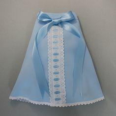 Precioso Faldón con listón en azul. #faldones #bebe #ropadebebe #modainfantil #compraenlinea