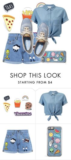 """Awesome 👌"" by triceyfashion on Polyvore featuring Miss Selfridge, Paul & Joe Sister and Keds"