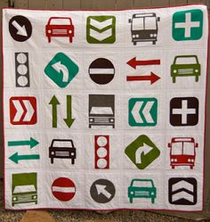 Beep! Beep! A Modern Quilt for the Modern Tike | Sewing Secrets - A Blog by Coats & Clark