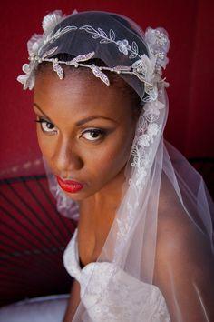 Hollywood glam editorial at the Redbury Hotel in LA featuring gorgeous bridal cuffs by Diann Valentine. Wedding Veils, Wedding Dresses, African American Brides, Bridal Cuff, Wedding Inspiration, Wedding Ideas, Black Bride, Erika, Wedding Couples