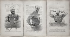 Gay erotic poster /nude muscul male / Printing 3 pcs.Antique book pag.wall decor #handmade #sexy