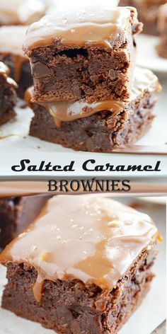 Caramel Brownies Recipe Salted Caramel Brownies Recipe A chewy chocolate chip cookie with a gooey lava interior Better than takeout Its easy flavorful and so hearty yo. Brownie Mix Cookies, Chewy Chocolate Chip Cookies, Chocolate Flavors, Chocolate Chips, Cheesecake Cookies, Cookie Bars, Chicken Recipes For One, Chicken Recipes Dairy Free, Lunch Lady Brownies