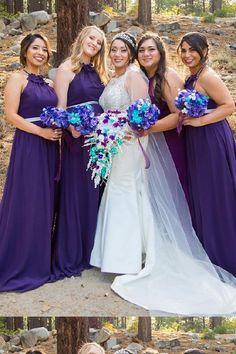 Hot Sale Admirable A-Line Bridesmaid Dresses f8aa2e07bf2b