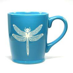 NEW! Dragonfly Mug - Bread and Badger Gifts