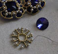 My favorite jewelry at Pandora - Fine Jewelry Ideas Seed Bead Jewelry, Statement Jewelry, Fine Jewelry, Jewelry Making, Jewelry Findings, Seed Beads, Beaded Jewelry Patterns, Beading Patterns, Beaded Rings