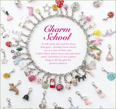 The very popular Bombay Duck charms x