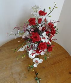 Cold Porcelain bridal bouquet
