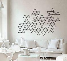 Geometric Mid Century Modern Decals