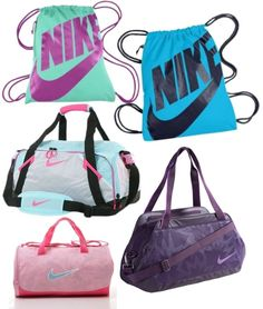 """cool Nike bags"" by elliana-jolene ❤ liked on Polyvore"