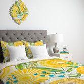 Found it at AllModern - Cori Dantini Sun Burst Flowers Duvet Cover Collection $183 Queen