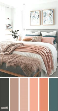 and Teal Colour Scheme For Bedroom -Mauve, Peach and Teal Colour Scheme For Bedroom - teal home accents Mauve, Peach and Teal Colour Scheme For Bedroom elegant taste master bedroom color scheme 26 Teal Color Schemes, Bedroom Color Schemes, Bedroom Colors, Apartment Color Schemes, Mauve Bedroom, Peach Bedroom, Teal Bedroom Accents, Teal Master Bedroom, Bedroom Modern