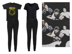 """@punk-koala-loves-5sos"" by jasloves5sos ❤ liked on Polyvore featuring T By Alexander Wang and New Look"