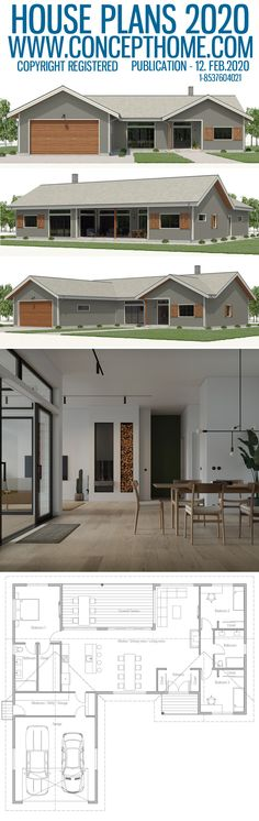Style At Home, Future House, My House, Plan Chalet, Local Builders, Tiny House Design, Cabin Homes, Open Plan Living, Next At Home